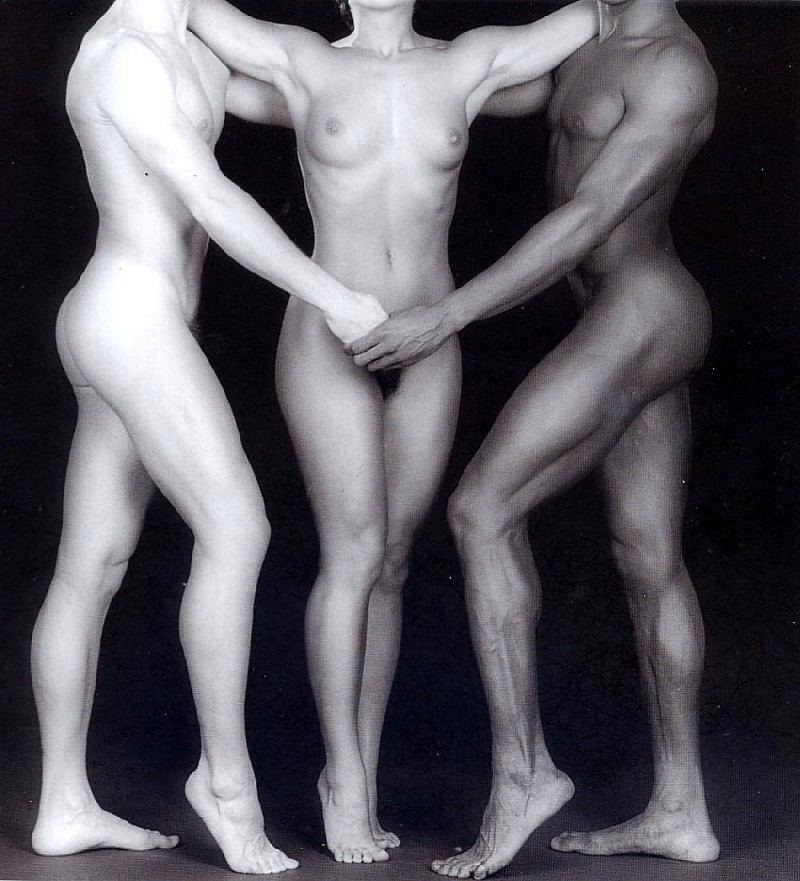 Robert Mapplethorpe - Ken and Lidia and Tyler