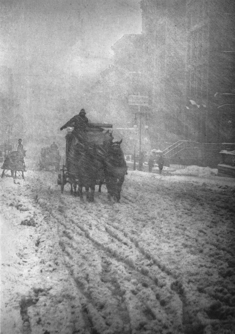 Alfred Stieglitz - Fifth Avenue