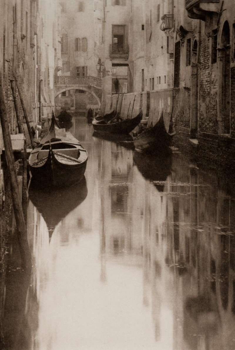 Alfred Stieglitz - Venetian Canal