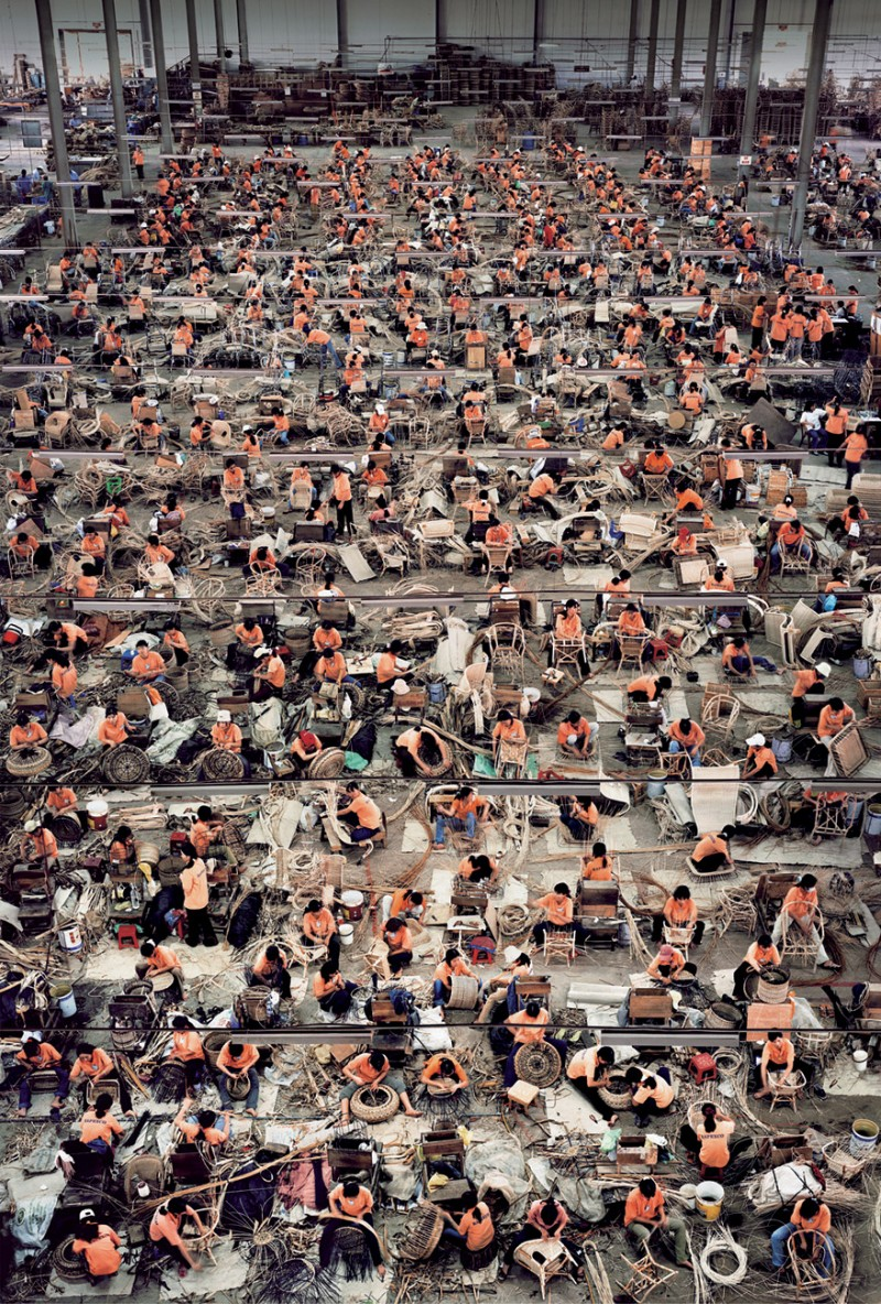 Andreas Gursky - Chinese Manufacture
