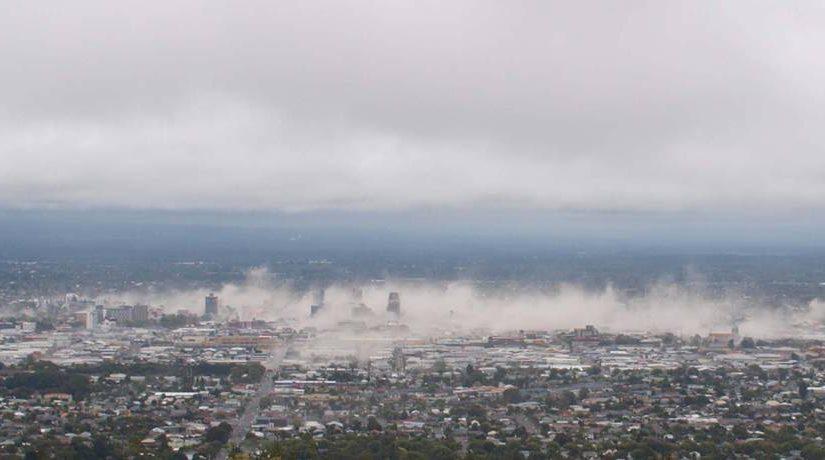 Землетрясение в Новой Зеландии, фотографии