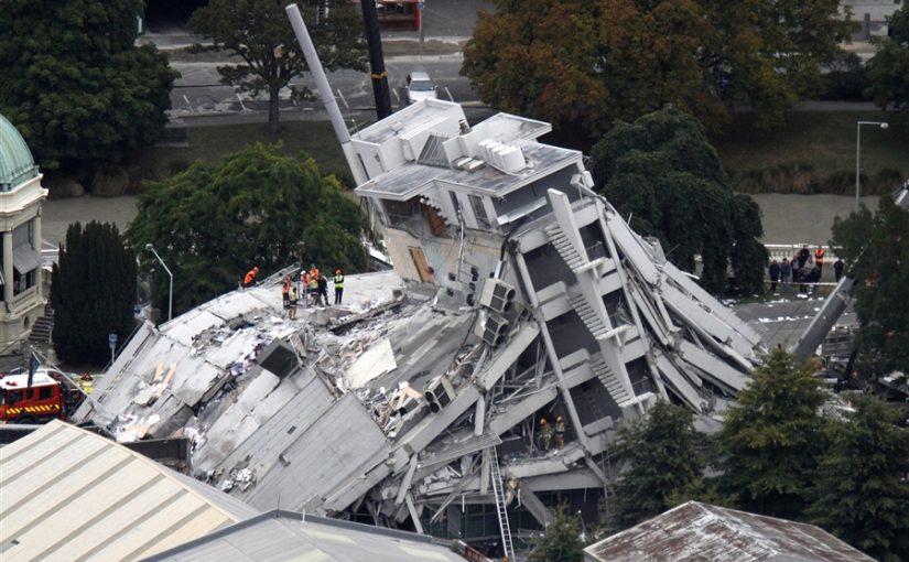 Землетрясение в Новой Зеландии, разговор с очевидцем