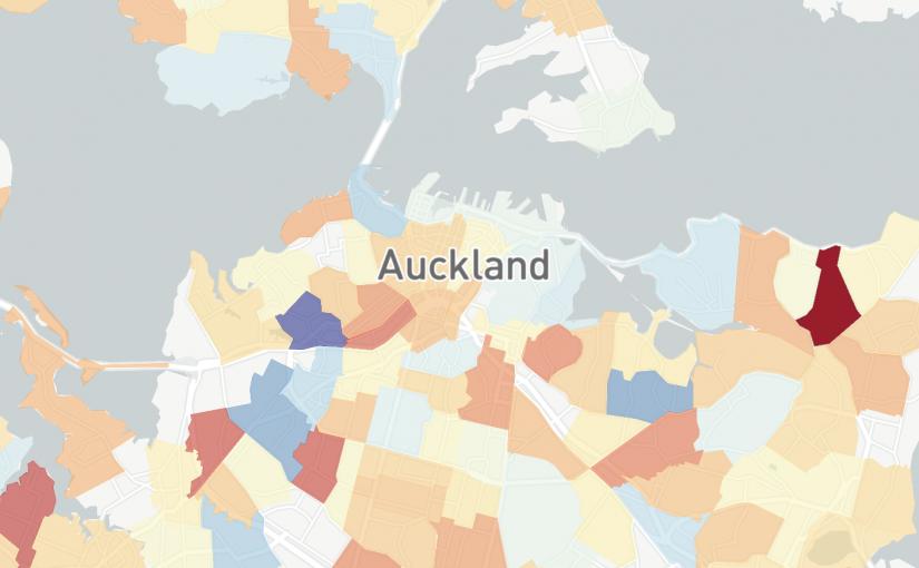 Сколько стоит снимать жильё в Новой Зеландии (и в Окленде). Интерактивная карта