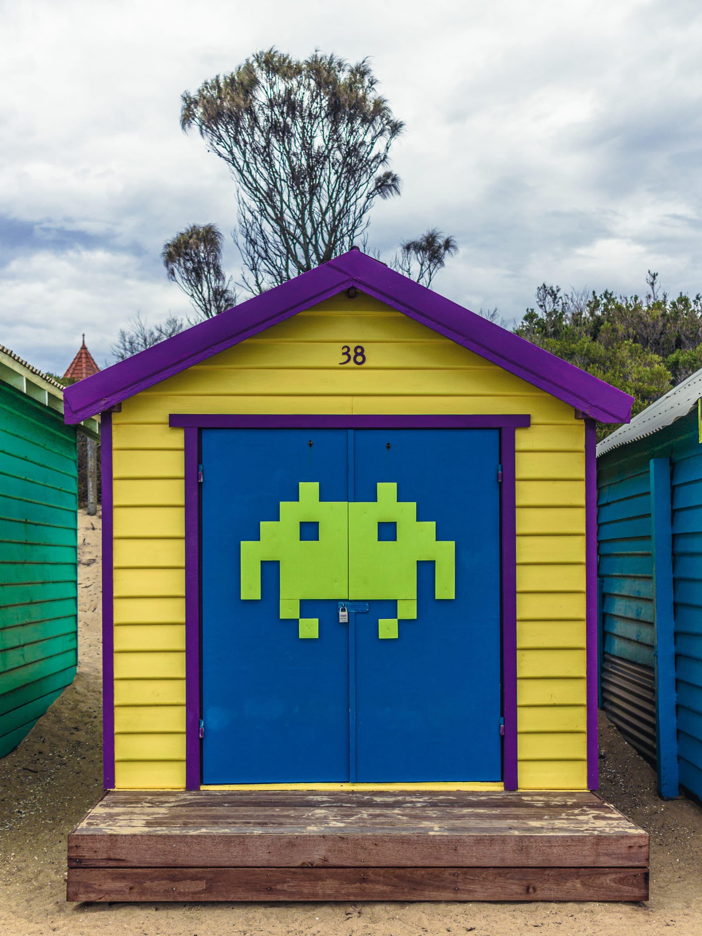 Лодочная станция номер 38 в Мельбурне, Австралия