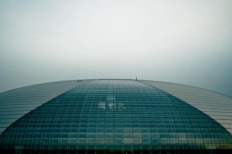 Человек на крыше пекинской оперы