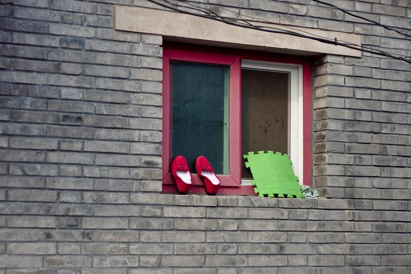 Окно в Пекине