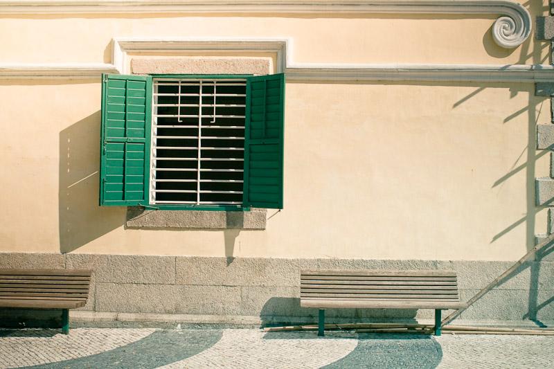 Зелёное окно