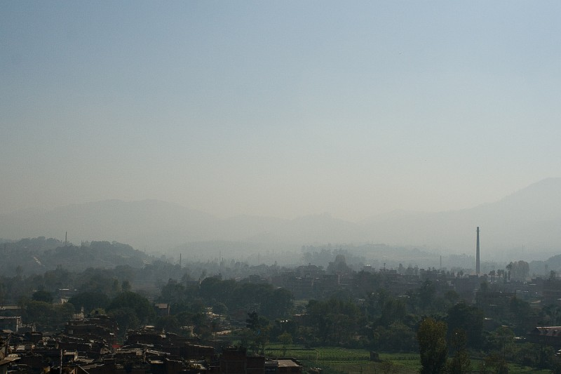 Вид на Бхактапур