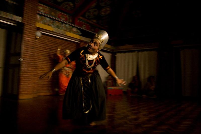 Закрытое выступление преподавателей Института Непальских Искусств