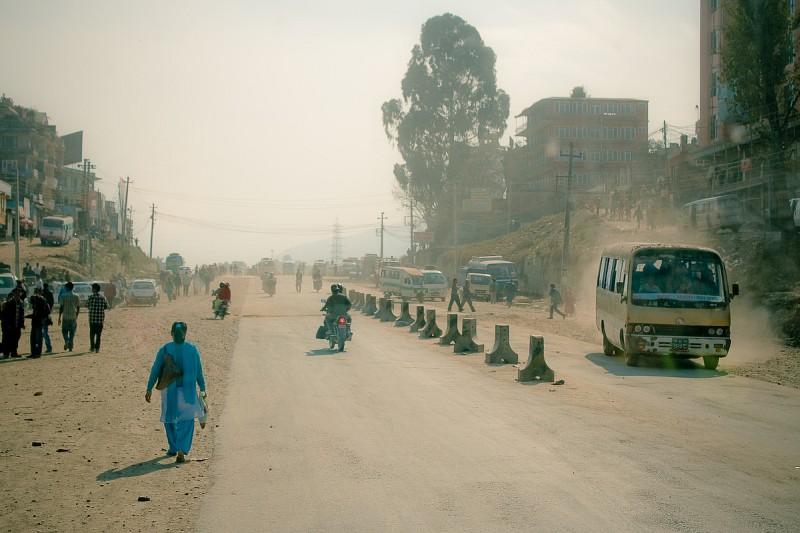 Пыльные улицы