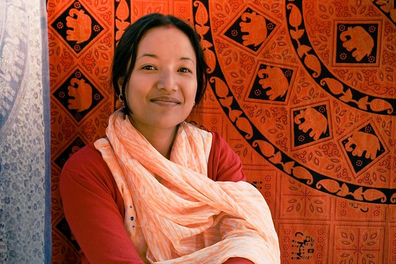 Непальская женщина
