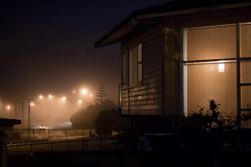 Туман в Окленде