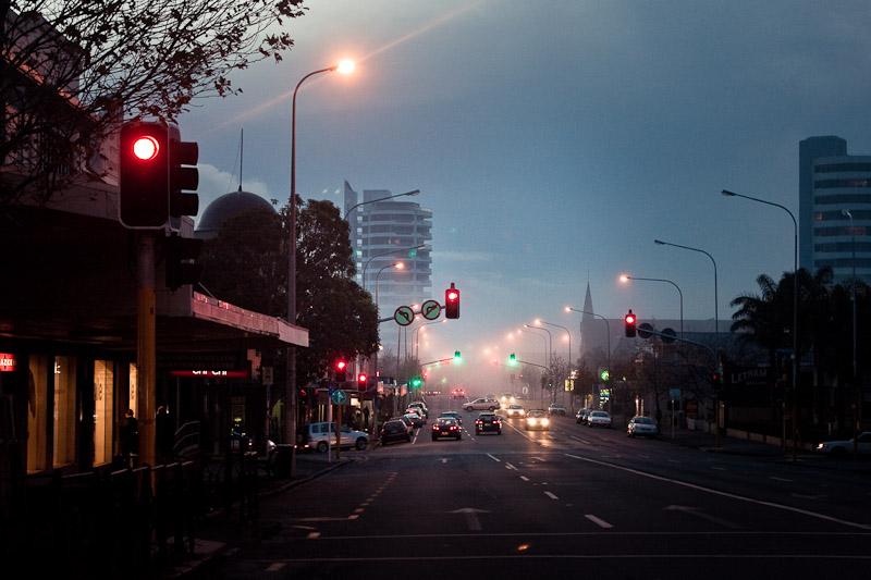 Туманный Окленд