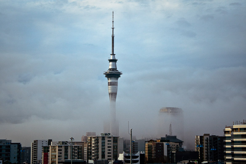 Центр в тумане