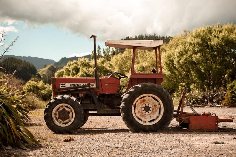 Трактор Фиат