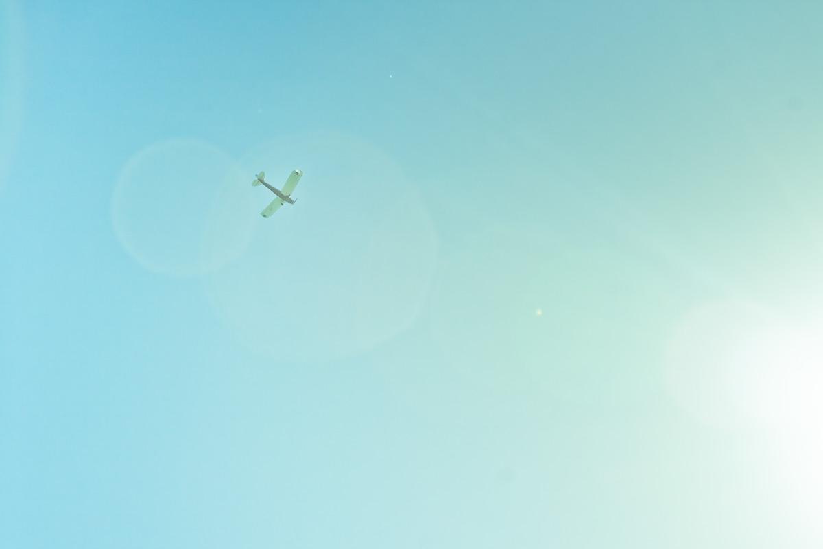 Самолёт над горой Мангануи