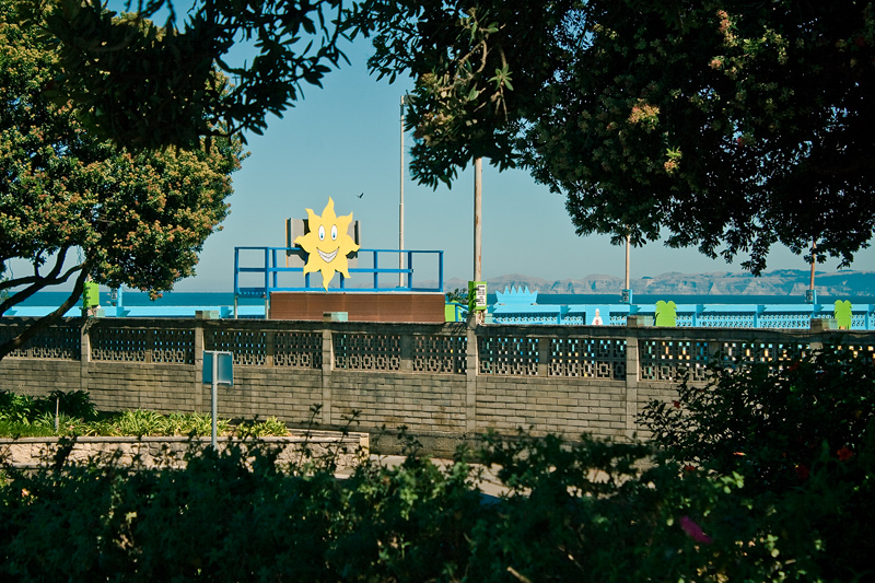 Знак солнца в Напьере