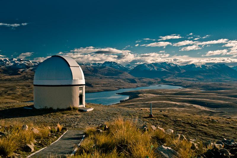 Обсерватория у озера Те Капо