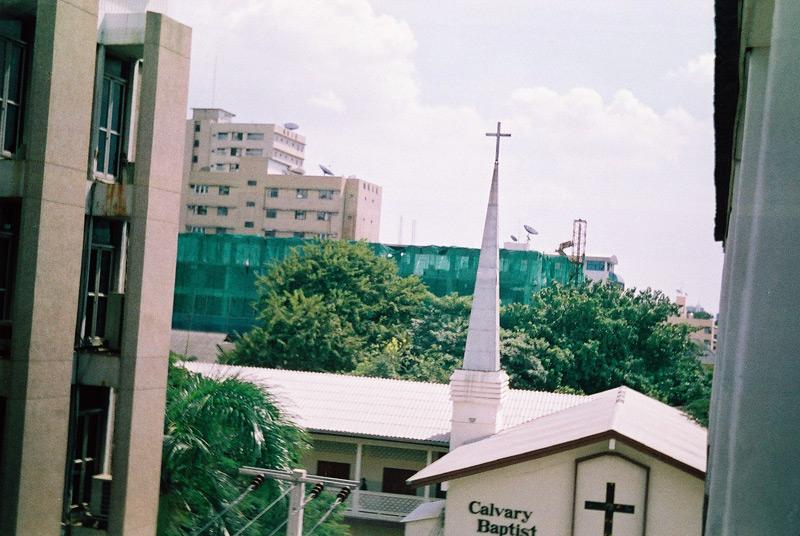 Церковь в самом блядском центре Бангкока.