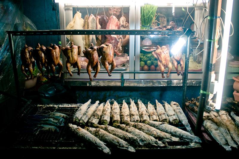 Продавец еды в Бангкоке