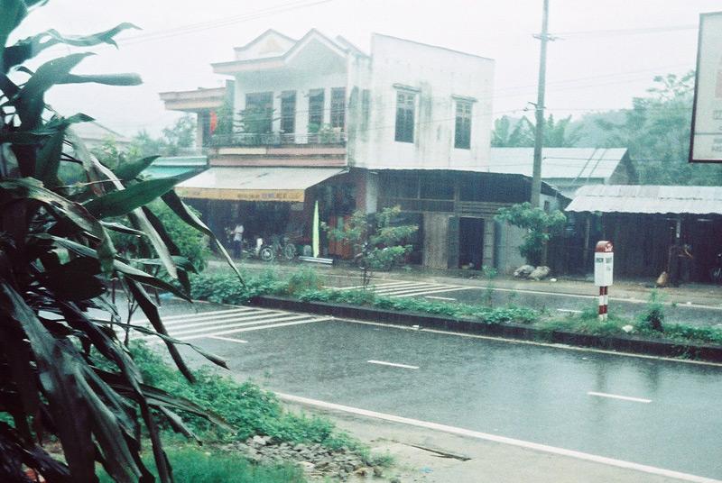 Дождливый день во Вьетнаме